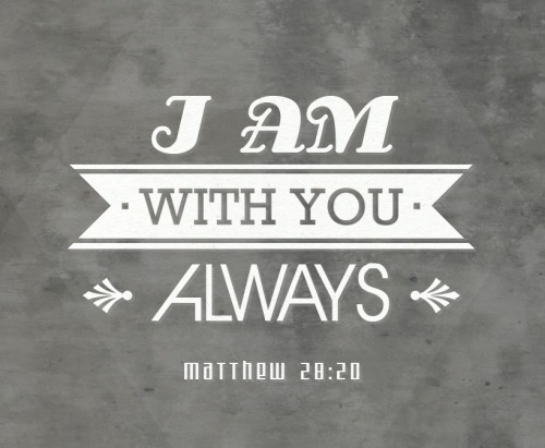 I'll Be With You - Matthew